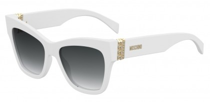 Moschino MOS011/S VK6/9O White - Dark Grey Shaded