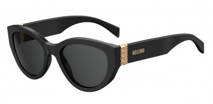 Moschino MOS012/S 807/IR Black - Dark Grey