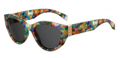 Moschino MOS012/S F74/IR Colored Havana - Dark Grey