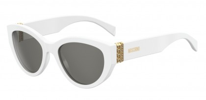 Moschino MOS012/S VK6/IR White - Grey