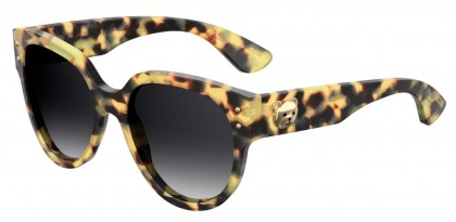 Moschino MOS013/S SCL/9O Blonde Havana - Dark Grey Shaded