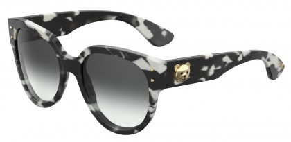Moschino MOS013/S WR7/9O Black Havana - Grey Shaded