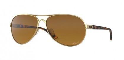 Oakley 0OO4079 FEEDBACK 407911 Polished Gold - Brown Gradient Polarized