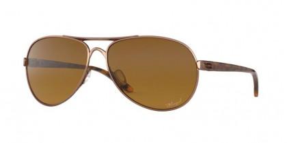 Oakley 0OO4079 FEEDBACK 407914 Rose Gold - Brown Gradient Polar