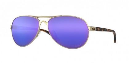 Oakley 0OO4079 FEEDBACK 407918 Polished Gold - Violet Irid Polar