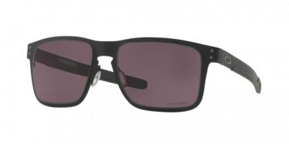 Oakley 0OO4123 HOLBROOK METAL 412311 Matte Black - Prizm Grey
