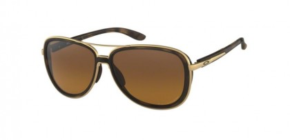 Oakley 0OO4129 SPLIT TIME 412906 Brown Tortoise - Brown Gradient Polarized