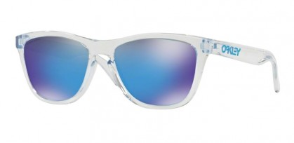 Oakley 0OO9013 FROGSKINS 9013D0 Crystal Clear - Prizm Sapphire
