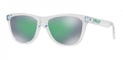 Oakley 0OO9013 FROGSKINS 9013D6 Crystal Clear - Prizm Jade