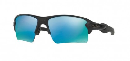 Oakley 0OO9188 FLAK 2.0 XL 918858 Matte Black - Prizm Deep H20 Polarized