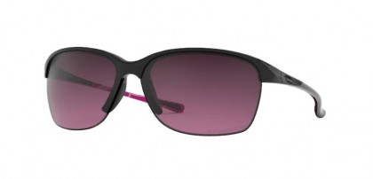 Oakley 0OO9191 UNSTOPPABLE 919110 Polished Black - Rose Gradient Polarized