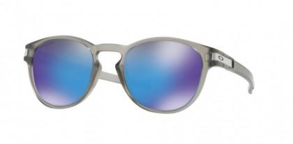 Oakley 0OO9265 LATCH 926532 Matte Grey Ink - Prizm Sapphire Polarized