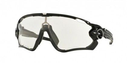 Oakley 0OO9290 JAWBREAKER 929014 Polished Black - Clear to Black Photochromic