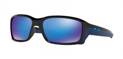 Oakley 0OO9331 STRAIGHTLINK 933104 Polished Black - Sapphire Iridium