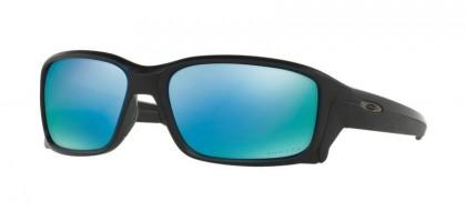 Oakley 0OO9331 STRAIGHTLINK 933105 Matte Black - Prizm Deep h20 Polarized