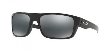 Oakley 0OO9367 DROP POINT 936702 Polished Black - Black Iridium