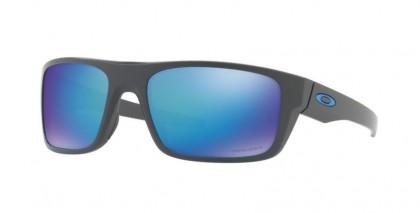 Oakley 0OO9367 DROP POINT 936706 Matte Dark Grey - Prizm Sapphire Polarized