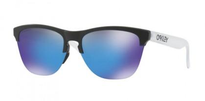 Oakley 0OO9374 937402 Matte Black - Prizm Sapphire