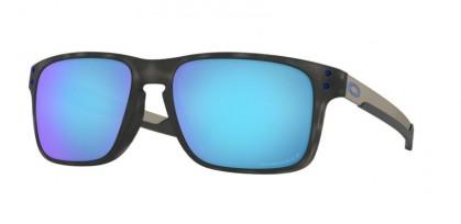 Oakley 0OO9384 938411 Matte Black Tortoise - Prizm Sapphire Polarized