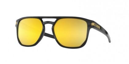 Oakley 0OO9436 943604 Polished Black - Prizm 24K Polarized