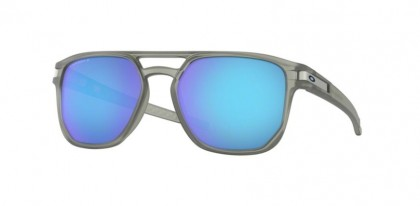 Oakley 0OO9436 943606 Matte Grey Ink - Prizm Sapphire Polarized
