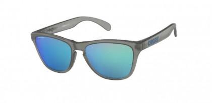 Oakley FROGSKINS XS 0OJ9006 900605 Matte Grey Ink - Prizm Sapphire