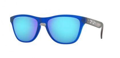 Oakley FROGSKINS XS 0OJ9006 900612 Matte Translucent Sapphire - Prizm Sapphire