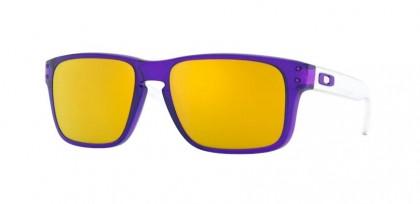 Oakley HOLBROOK XS 0OJ9007 900706 Translucent Purple - 24K Iridium