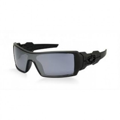 Oakley LIFESTYLE 0OO9081 OIL RIG (UPDATE) 03-464 Matte Black - Black Iridium