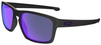 Oakley 0OO9262 SLIVER 926210 Matte Black - Violet Iridium Polarized
