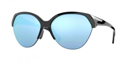 Oakley TRAILING POINT 0OO9447 944706 Polished Black - Prizm Deep H2O Polarized