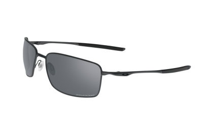Oakley Polarized Square Wire 4075-04 - Carbon / Gray Polarized