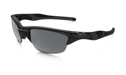 Oakley 0OO9144 HALF JACKET 2.0 9144-01 - Polished Black / Black Iridium