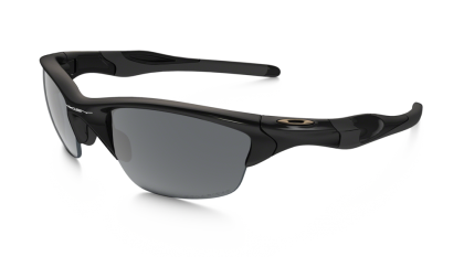 Oakley Polarized Half Jacket 2.0 9144-04 - Polished Black / Black Iridium Polarized