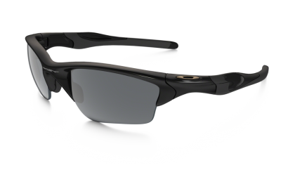 Oakley Half Jacket 2.0 XL 9154-01 - Polished Black / Black Iridium