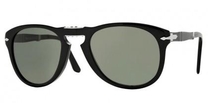 Persol 0PO0714 95/31 Black - Grystal Green