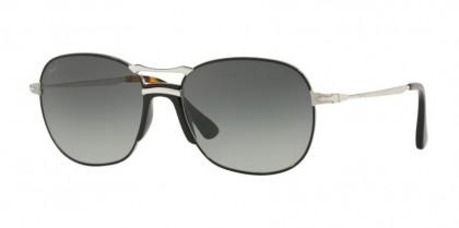 Persol 0PO2449S 107471  Silver Black - Grey Gradient Dark Grey