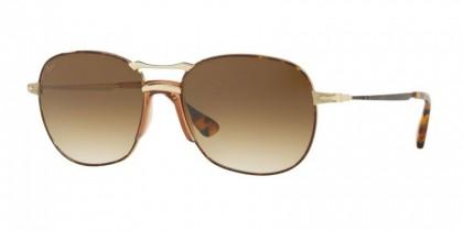Persol 0PO2449S 107551  Havana Gold - Clear Gradient Brown