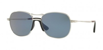 Persol 0PO2449S 518/56  Silver - Light Blue