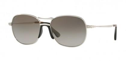 Persol 0PO2449S 518/M3  Silver - Grey Gradient Dark Grey Polar