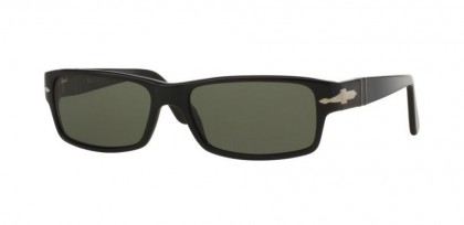Persol 0PO2747S 95/48 Black - Crystal Green Polarized
