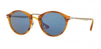 Persol 0PO3166S 960/56 Striped Brown - Light Blue