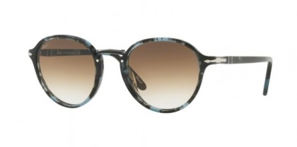 Persol 0PO3184S 1062/51 Spotted Blue Dark Grey - Clear Gradient Brown