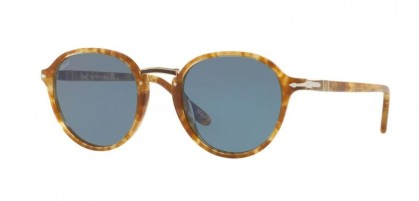 Persol 0PO3184S 1064/56 Spotted Brown Beige - Light Blue