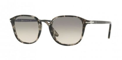 Persol 0PO3186S 1063/32 Spotted Grey Black - Clear Gradient Grey