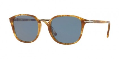 Persol 0PO3186S 1064/56 Spotted Brown Beige - Light Blue