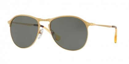 Persol 0PO7649S 106958 Matte Gold - Green Polarized