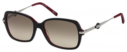 Pierre Cardin P.C. 8474/S GUU/HA Black - Brown Shaded