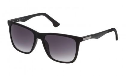 Police SK066 07V4 Black Matte Black Shiny - Smoke Gradient