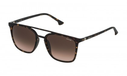 Police SPL366 0978 Havana Dark Shiny - Brown Gradient